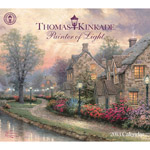 Thomas Kinkade Painter of Light 2013 Wall Calendar